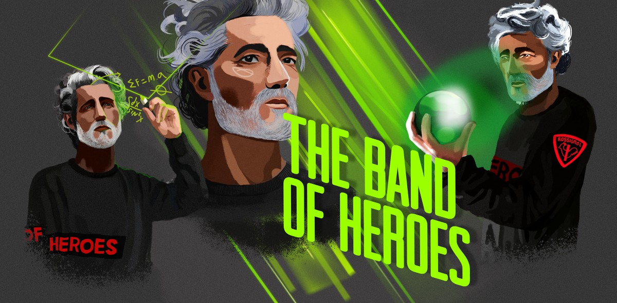 Heads / Rossignol - The Band of Heroes - EP1 ROS